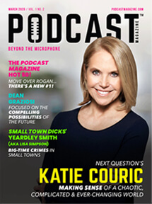 Katie Couric Podcast Magazine cover